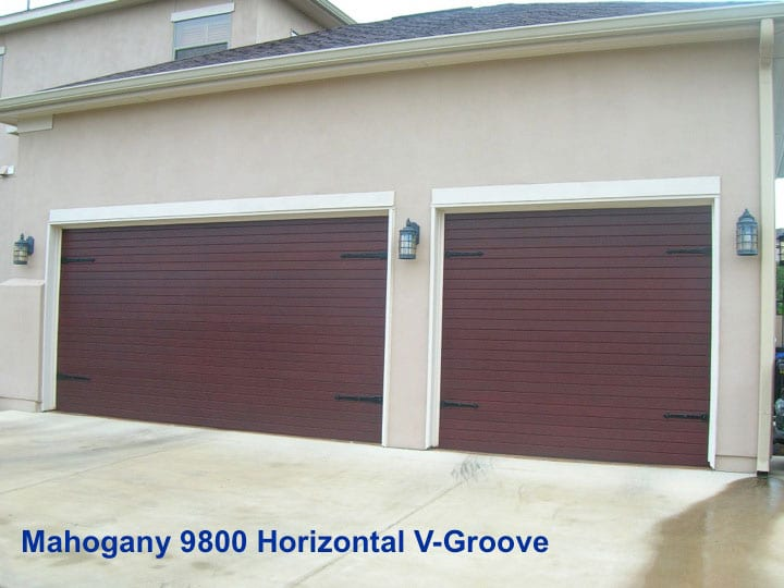 Simulated Wood Garage Doors ... & Farmer Garage Door | Knoxville TN | Garage Doors and Overhead Doors