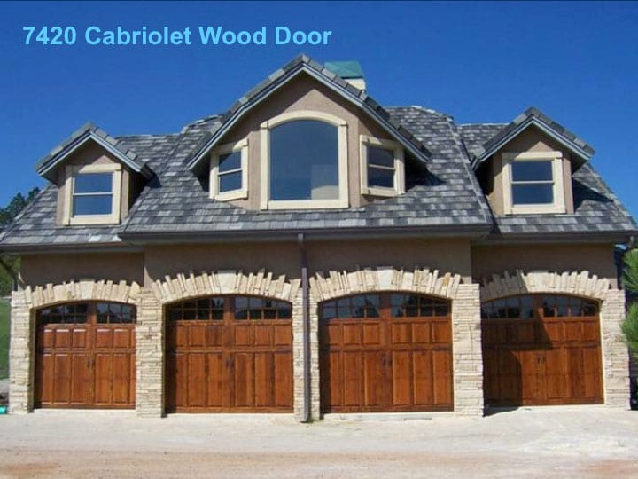 Knoxville Custom Wood Garage Door
