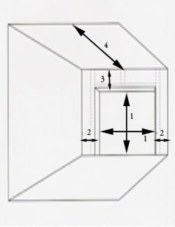 garage door opening measurements